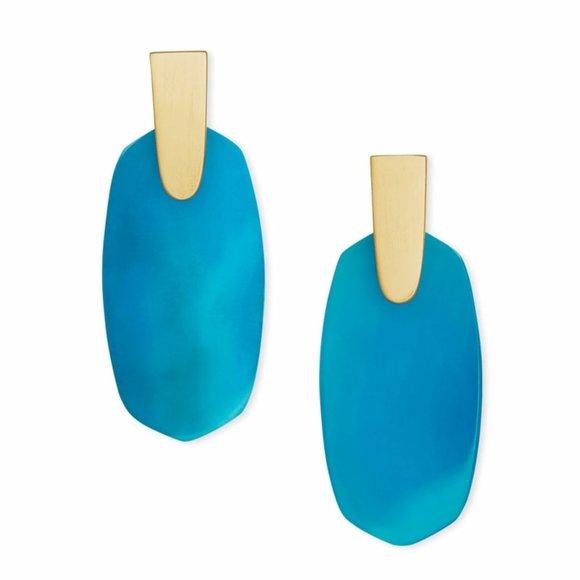 Kendra Scott Aragon Drop Earrings In Gold